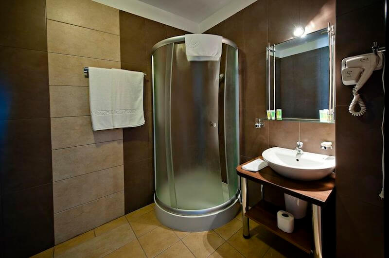 prysznic-hotel-borowina